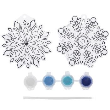 Snowflake Suncatchers Craft Kit