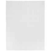 """Ultra Stiff 7-Mesh Plastic Canvas Sheet - 10 1/2"""" x 13 1/2"""""""
