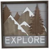 Explore Wood Wall Decor