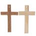 Wood Cross Pendants