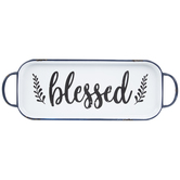 Blessed Tray Metal Wall Decor