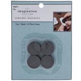 """Round Ceramic Magnets - 3/4"""""""
