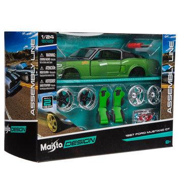 1967 Ford Mustang GT Model Kit