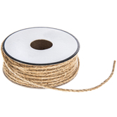 Natural Jute Rope Trim - 1/16""