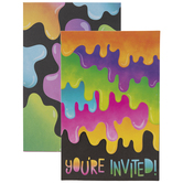 Slime Party Invitations