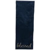 Blessed Velvet Table Runner