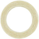 Natural Waxed Linen Cord - 0.65mm