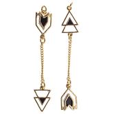 Asymmetrical Arrow Pendants