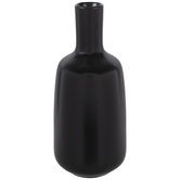 Black Tapered Vase