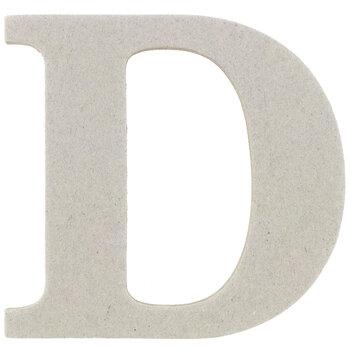 """Chipboard Letter - 3 1/2"""""""