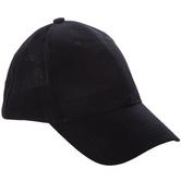 Black Adult Baseball Cap