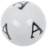 Mini Letter Decorative Sphere - A