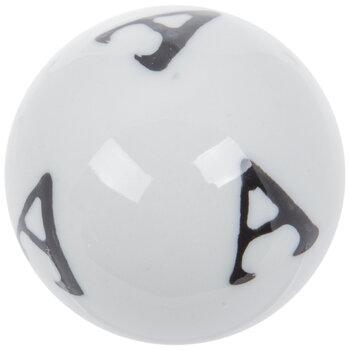 Mini Letter Decorative Sphere