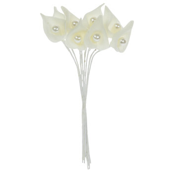 White Calla Lily Pick