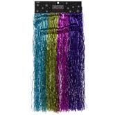 Rainbow Lametta Icicle Strips