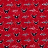 NHL Washington Capitals Cotton Fabric