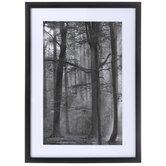 Black & White Forest Framed Wall Decor