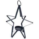 Star Metal Candle Holder