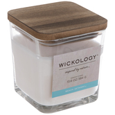 Beach Getaway Wood Wick Jar Candle