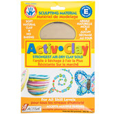 White Activ-Clay Air Dry Clay - 1 Pound