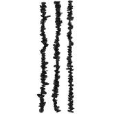 Black Obsidian Chip Bead Strands
