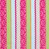 Multi-Color Pattern Striped Apparel Fabric