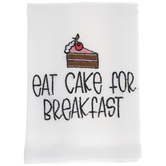 Eat Cake For Breakfast Cloth Napkin