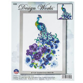 Peacock Counted Cross Stitch Kit