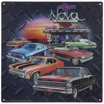 Chevrolet Nova Cafe Metal Sign