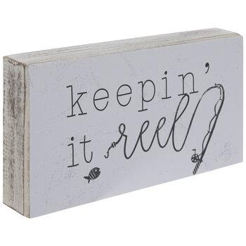 Keepin' It Reel Wood Decor