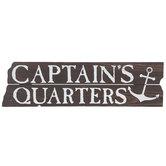 Captain's Quarters Wood Wall Decor