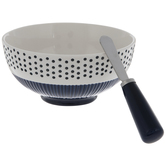 Dotted Bowl With Spreader