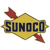 Sunoco Metal Sign