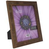 """Antique Dark Walnut Rustic Wood Frame - 8"""" x 10"""""""