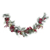 Frosted Pine Garland With Berries