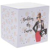 Building My Empire Polka Dot Note Block