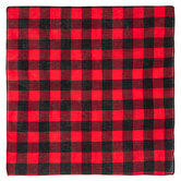 Red & Black Buffalo Check Bandana