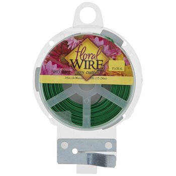 Green Easy Cut Flat Floral Wire
