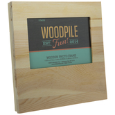 "Square Wood Photo Frame - 4"" x 6"""