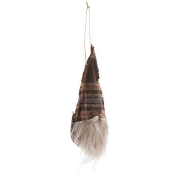 Brown Gnome Ornament