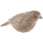 Whitewash Wood Look Bird