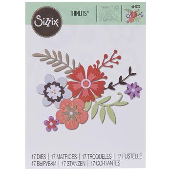 Sizzix Thinlits Floral Dies