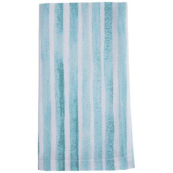 Blue & White Striped Cloth Napkin