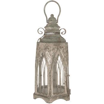 Antique Blue Arched Lantern