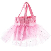 Pink Tulle & Canvas Tutu Tote Bag