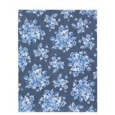 "Blue & Navy Floral Scrapbook Paper - 8 1/2"" x 11"""