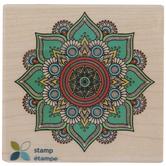 Paisley Mandala Rubber Stamp