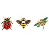 Bug Enamel Pins
