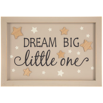 Dream Big Little One Wood Wall Decor
