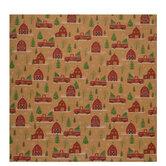 Barn & Truck Kraft Gift Wrap